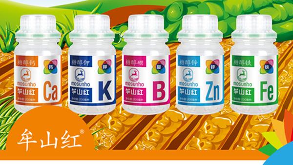 河南田轻松植保公司糖醇钙有效提高作物花芽分化、增加果实干粒重